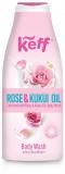 Gel de dus Body Wash Milk Rose & Kukui Oil 500 ml Sano Keff