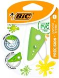 Radiera cu carcasa protectoare, fara PVC, diverse culori, Precision BIC