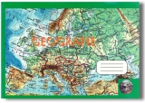 Caiet geografie mare, 24 file