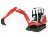 Jucarie Mini Excavator Schaeff HR16 Bruder