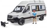 Jucarie Sprinter camping Mercedes Benz cu sofer Bruder