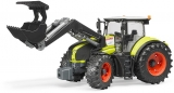 Jucarie Tractor Claas Axion 950 cu incarcator frontal Bruder