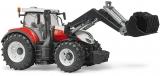 Jucarie Tractor Steyr 6300 Terrus CVT cu incarcator frontal Bruder