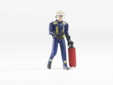 Jucarie Figurina pompier cu accesorii Bruder