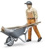 Jucarie Figurina muncitor municipal Bruder