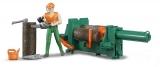Set de joaca Figurina muncitor forestier cu accesorii Bruder