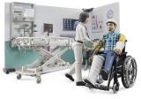 Set de joaca Camera de spital cu pacient Bruder