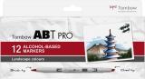 Set Markere ABT Pro 12 Landscape Colors Tombow