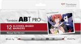 Set Markere ABT Pro 12 Manga Tombow