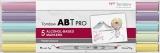 Set Markere ABT Pro 5 Pastel Colors Tombow