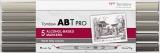 Set Markere ABT Pro 5 culori Warm Gray Tombow