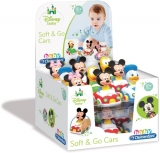 Masinute Disney: Minnie, Mickey, Donald, Pluto Clementoni