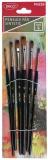 Pensula lata par sintetic PN226 6 buc/set Daco