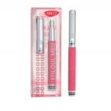 Stilou metalic roz Stiloul meu Daco