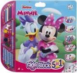 Set pentru desen 5 in 1 Giga Blocks Minnie, Art Greco