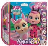 Set pentru desen 5 in 1 Giga Blocks Cry Babies, Art Greco