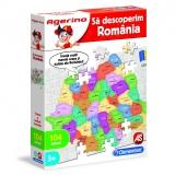 Set de joaca educativ Agerino, Sa descoperim Romania, Clementoni