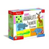 Set de joaca educativ Agerino, Domino animalute si numere, Clementoni