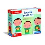 Set de joaca educativ Agerino, Emotiile de pe fata mea, Clementoni