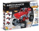 Set de joaca Laboratorul de mecanica, Monster Trucks, Clementoni