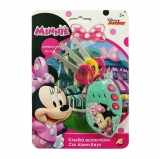 Set de joaca Chei si alarma auto Minnie, AS Toys