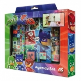 Set creativ cu agenda PJ Masks, AS Toys