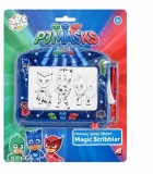 Tablita pentru scris, Magic Scribbler PJ Masks Travel, Art Greco