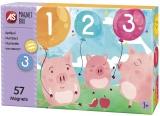 Set de joaca educativ Cutie Magnetica, Numerele, AS Magnets