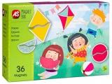 Set de joaca educativ Cutie Magnetica, Formele, AS Magnets