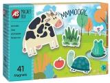 Set de joaca educativ Cutie Magnetica, Animalele, AS Magnets