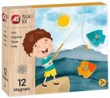 Set de joaca creativ Cutie Magnetica, Pescuit, AS Magnet