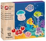 Set de joaca creativ Cutie Magnetica, Animale Marine, AS Magnets