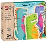 Set de joaca creativ Cutie Magnetica, Dinozauri, AS Magnets