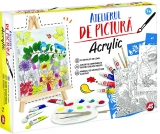 Set de creatie Atelierul de pictura Acrylic, AS Toys