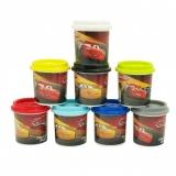 Borcanas individual de plastilina, 114 g, diverse culori, Cars, AS Dough