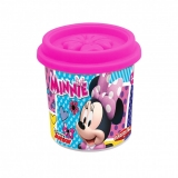 Borcanas individual de plastilina, 114 gr, diverse culori, Minnie AS Dough
