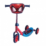 Trotineta cu 3 roti Scooter, model Spiderman, AS Wheels