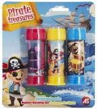 Baloane de sapun, Pirates, 3 buc/set, AS Summer Toys