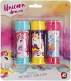 Baloane de sapun, Unicorn, 3 buc/set, AS Summer Toys
