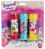 Baloane de sapun, Flamingos, 3 buc/set, AS Summer Toys