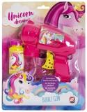Pistol pentru baloane de sapun Unicorn, AS Novelties