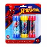 Baloane de sapun, Spiderman, 3 buc/set, AS Summer Toys