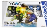 Set de joaca Roboti cu telecomanda, 2 buc/set, Robo Kombat, Silverlit
