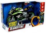 Jucarie Motocicleta de curse cu lumini si sunete, Teamsterz