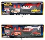 Set de joaca Vehicule urgemta, diverse modele, Teamsterz