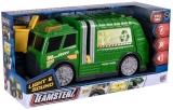 Jucarie Camion de reciclare cu lumina si sunete, Teamsterz