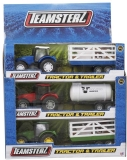 Set de joaca Tractor si remorca, diverse modele, Teamsterz