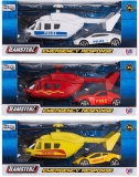 Set de joaca Masina si elicopter de urgenta, diverse modele, Teamsterz
