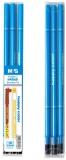 Rezerva roller cu rescriere, 3 bucati/set, 0.5 mm, albastru, scurta, standard B, Happy Color