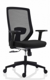 Scaun de birou ergonomic negru Zen